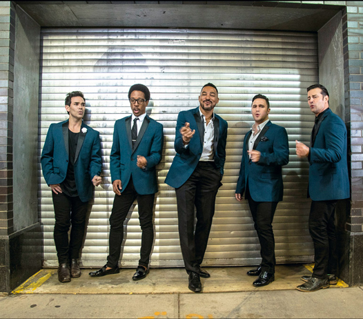 The Doo Wop Project, Charl Brown, Dominic Nolfi, Dwayne Cooper, Dominic Scaglione Jr, Russel Fischer, Sonny Paladino